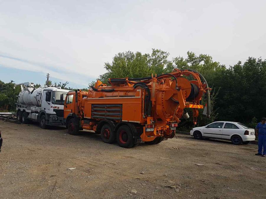 Odgušenje kanalizacije Beograd